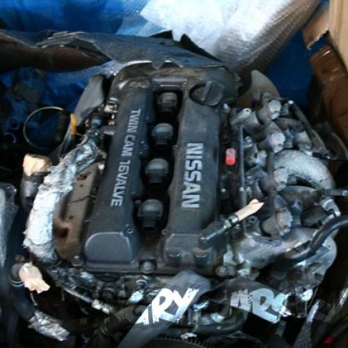 Мотор SR20det 180sx полный свап мотор, навеска, коса, мозг, кпп