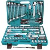 Набор инструмента Jonnesway 101 пр. 1/4″ 4-10мм. 1/2″ 8-32мм.+ ключи 8-24мм. S04H624101S