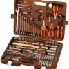 Набор инструмента OMBRA 150 пр. 1/4″,3/8″,1/2″ 6 гр. пласт.кейс