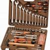 Набор инструмента OMBRA 88 пр. 1/4″,1/2″ 6 гр. пласт.кейс
