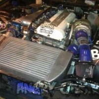 Мотор SR 20 det