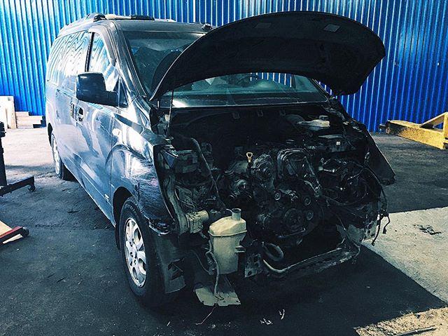Капитальный ремонт двигателя Хендай Старекс
